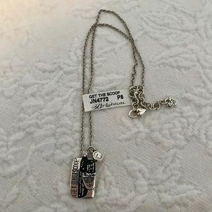 Brighton Reversible Silver Necklace